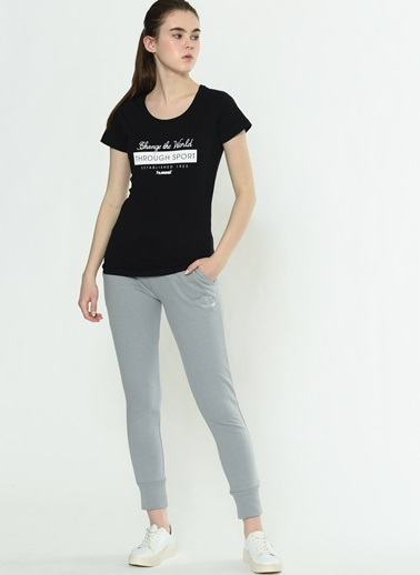 Hummel Bayan Tişört Ruby 910432-2001 Siyah